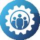 icon organisatie en procesverbetering