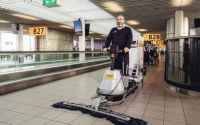 """Hago Airport Services: """"Op basis van het bestaande managementsysteem waren we in staat om snel en probleemloos het ISO 45001 certificaat voor Gezond & Veilig werken te behalen."""""""